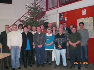 Mitgliederehrung 2009
