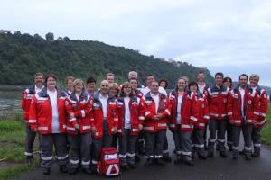 SAN-Dienst bei Rhein in Flammen Koblenz (2011)