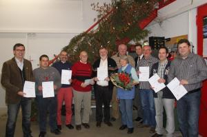 Mitgliederehrung 2012