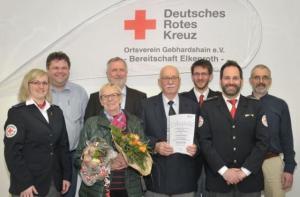 Ernennung von Udo Schneider zum Ehrenmitglied (März 2017)